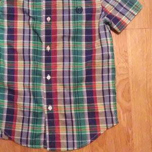 Boys Chaps label dress shirt size 7
